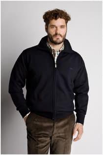 Vest van Plus Man wol polyester