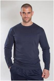T-shirt lange mouw Plus Man basis