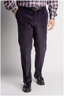 Corduroy (rib) broek van Plus Man.