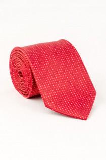 Gedessineerde extra lange stropdas van Plus Man