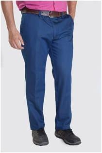 Gewassen jeansbroek van Plus Man