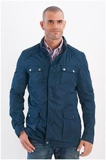 Sportieve dunne jas met capuchon van Plus Man