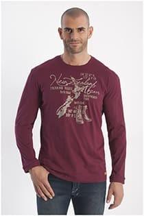 Redfield t-shirt lange mouw