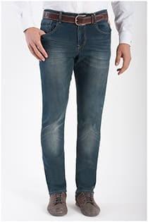 5-pocket elastische jeans van KAM Jeanswear.