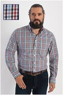 Lange mouw ruiten overhemd van GCM Henderson
