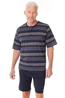 Gestreepte korte pyjama van Hajo