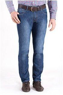 5-pocket jeansbroek van Koyote-78-Indigo