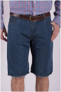 5-pocket denim short van Koyote