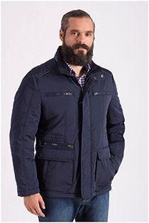 Winterjas met vele zakken van Plus Man