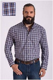 Haupt lange mouw katoenen overhemd