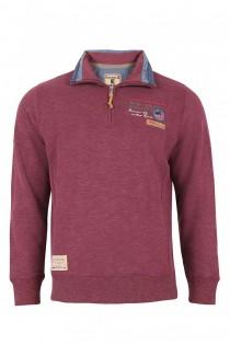 Sweatshirt met troyerkraag van Redfield