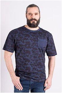 Bedrukt t-shirt van Replika