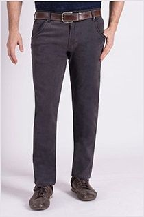 Black denim 5-pocket stretchjeans van Koyote