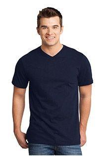 Uni v-hals korte mouw t-shirt Redfield