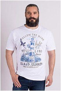 Korte mouw Kitaro t-shirt