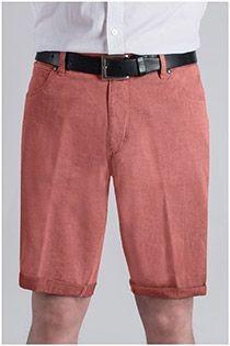 Elastische 5-pocket short van Pionier