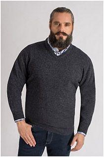 Lamswollen trui van Kitaro