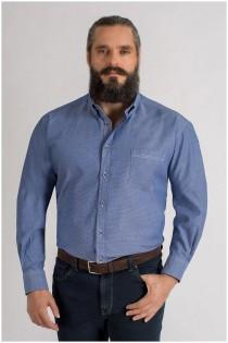 Lange mouw bedrukt overhemd van GCM Originals