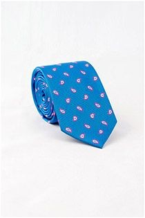 Bedrukte stropdas van Boccola