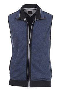 Sweat bodywarmer van Casamoda