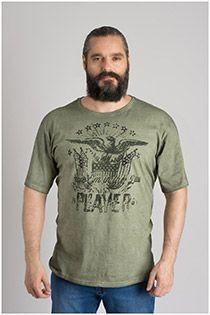 Korte mouw t-shirt van Forestal.