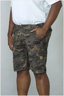 Camouflage short van D555