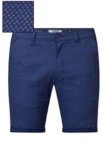 Elastische shorts van D555 met allover print