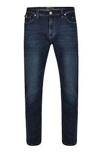 Extra lange stretch-jeans van KAM Jeanswear
