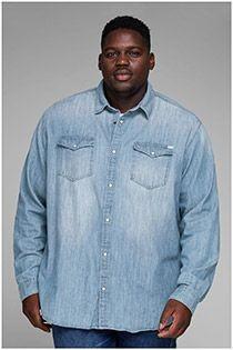 Jeans overhemd van Jack & Jones