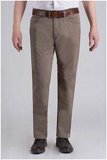 Extra lange elastische 5-pocket twillbroek van Pionier.