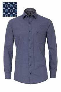 Casamoda lange mouw bedrukt overhemd