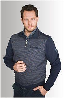 AANBIEDING: Meantime pullover met ritskraag