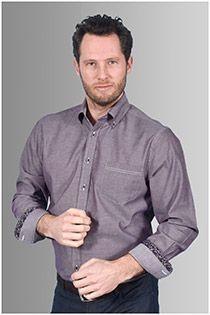 AANBIEDING: Uni lange mouw overhemd van GCM originals