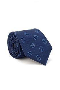 Bedrukte zijden stropdas van Plusman