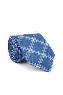Geruiten stropdas van Plusman