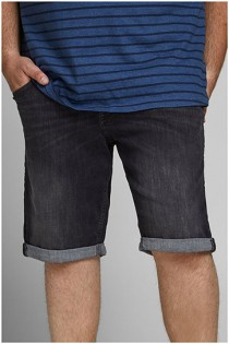 Black denim 5-pocket short van Jack & Jones