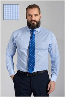 Ruiten dress shirt van Plusman