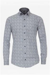 Bedrukt lange mouw overhemd van Casamoda
