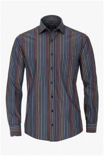 Gestreept lange mouw overhemd van Casamoda