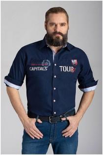 Uni lange mouw overhemd van Armada