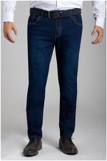 5-pocket elastische jeans van Plusman
