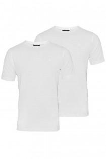 2-Pack basis uni T-shirt korte mouw Kitaro