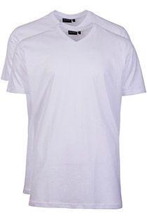 2-Pack basis uni T-shirt korte mouw Redfield
