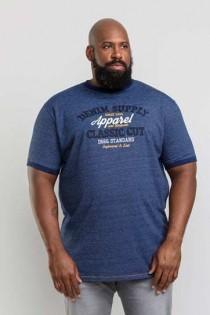 Korte mouw t-shirt van D555