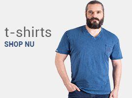 T-shirts grote maten