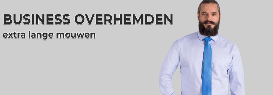 Extra lange dress overhemden