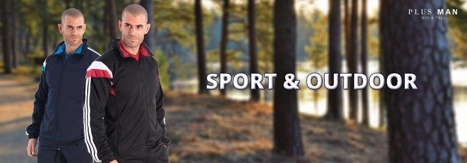 Grote maten sport- & outdoorkleding: trainingspakken en trainingsbroeken, regenjassen