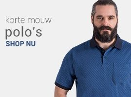 polo shirts in grote maten