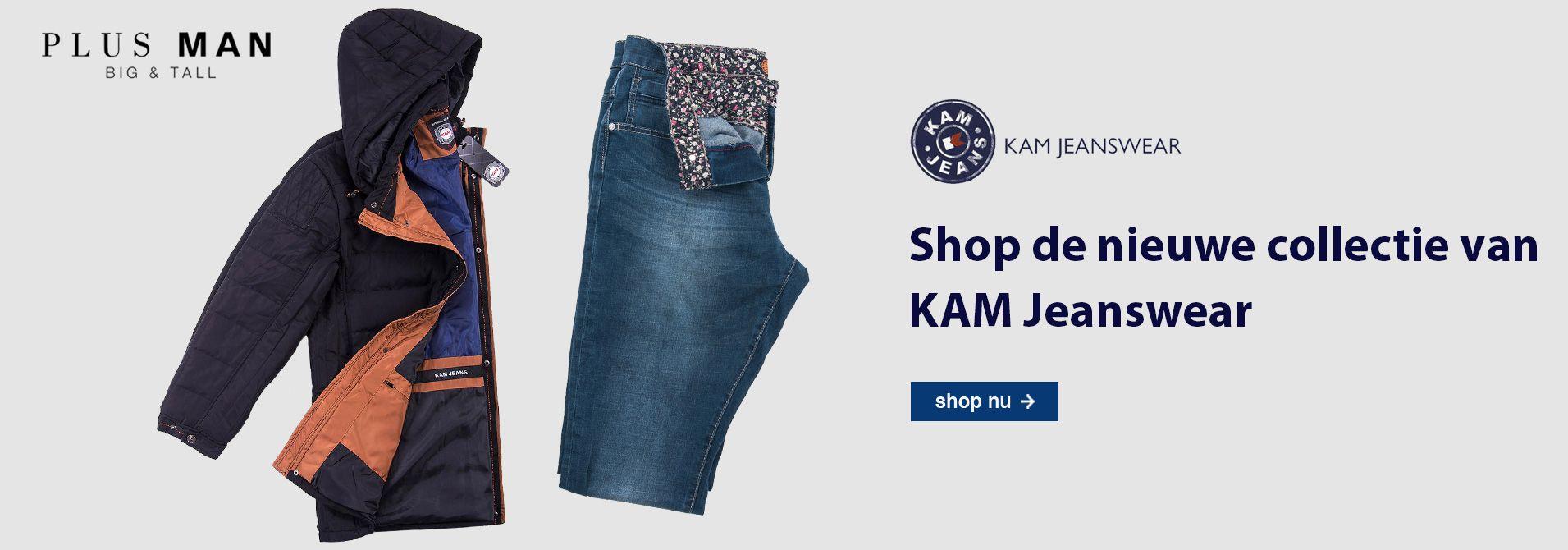 KAM Jeanswear grote maten