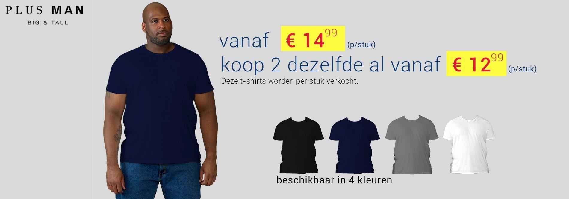 D555 t-shirt grote maten Flyers